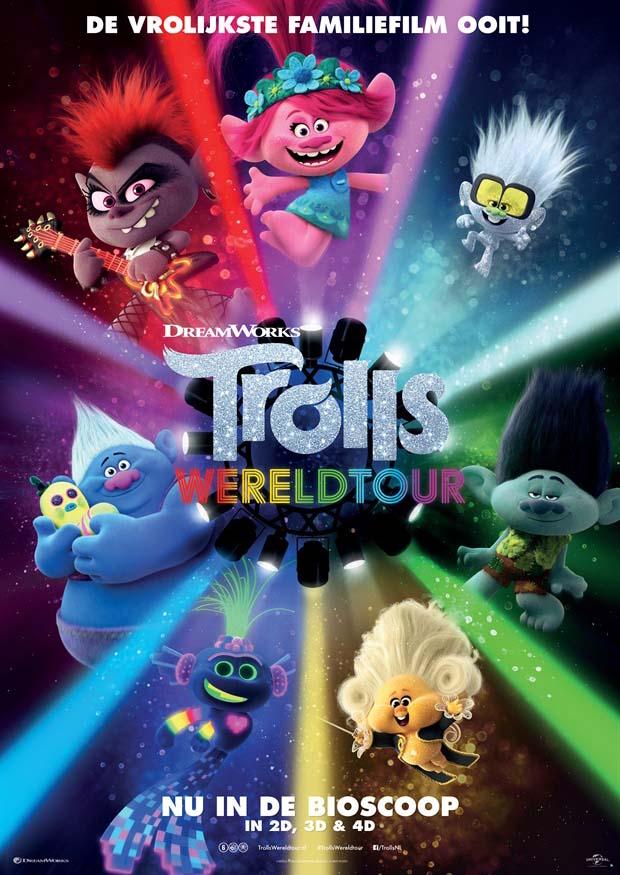 Trolls Wereldtour is de nieuwe vrolijke familiefilm van DreamWorks Animation en het vervolg op de hitfilm Trolls.