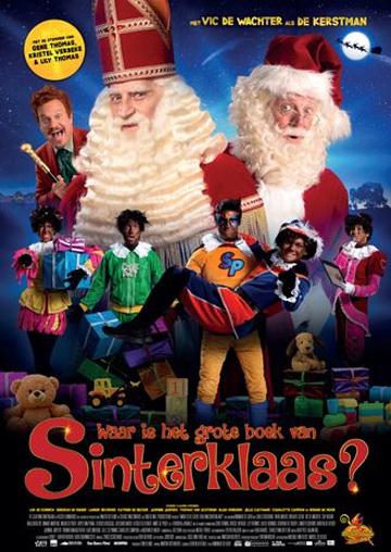 Bioscoopfilm Waar is het grote Boek van Sinterklaas