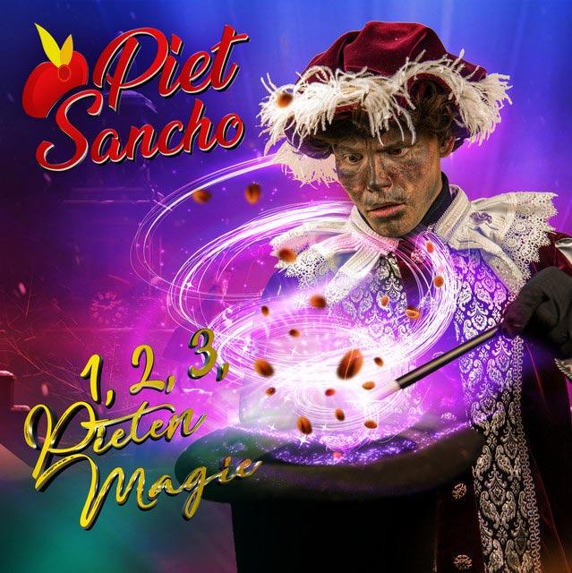 Hitsingle 1, 2, 3, Pietenmagie  van Piet Sancho