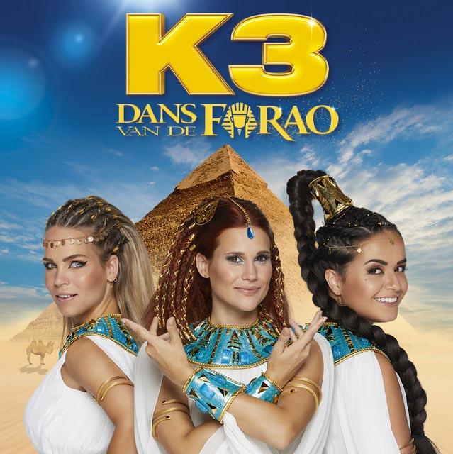 Hitsingle Dans van de Farao  van K3
