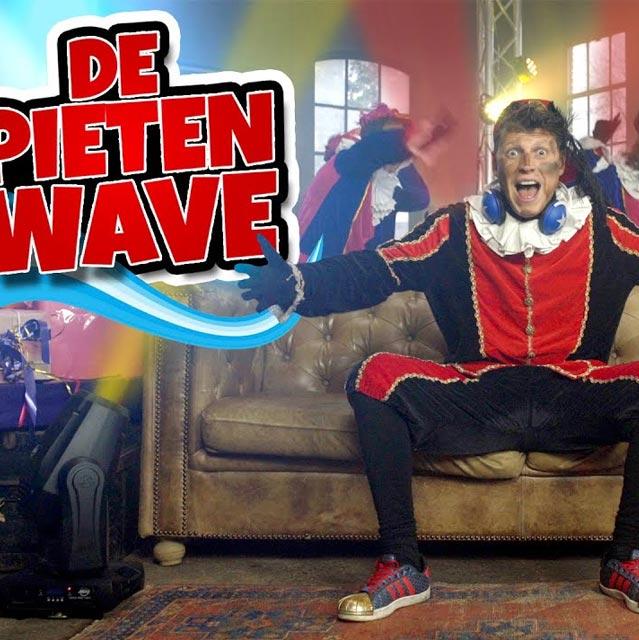 Hitsingle De Pieten Wave  van Party Piet Pablo