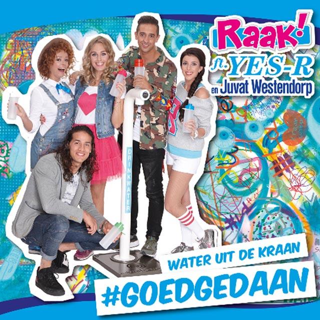 Hitsingle #Goedgedaan (Kraanwater)  van Raak! ft. Yes-R