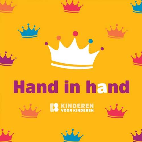 Hitsingle Hand in Hand  van Kinderen voor Kinderen