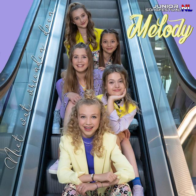 Niet wat vrienden doen hitsingle van Melody