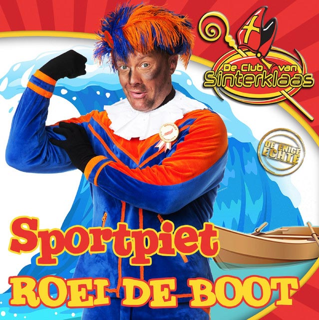 Hitsingle Roei de boot  van Sportpiet
