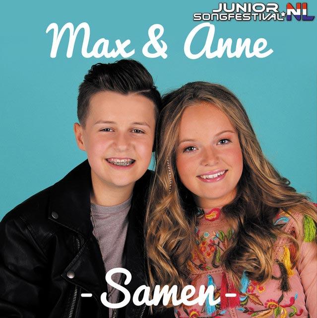 Hitsingle Samen  van Max & Anne