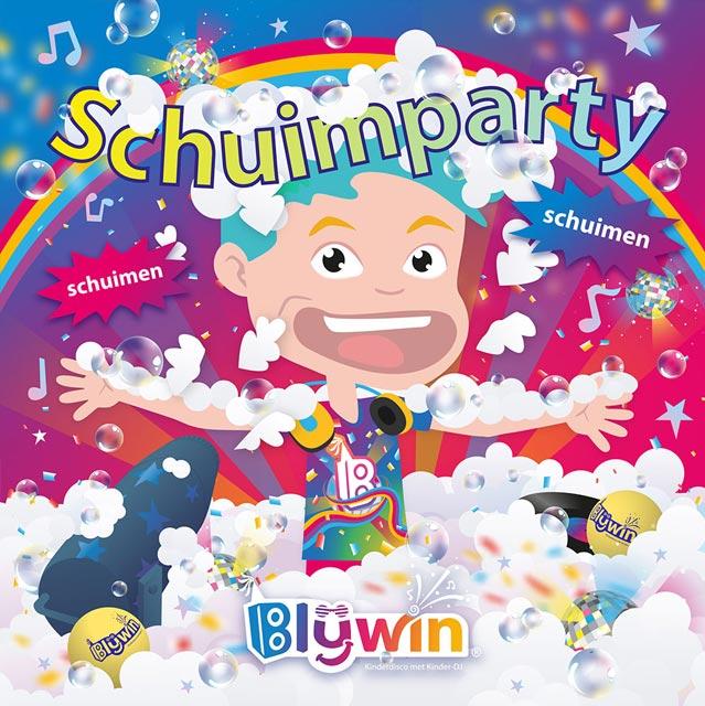Hitsingle Schuimparty! (Schuimen, Schuimen) van Blijwin