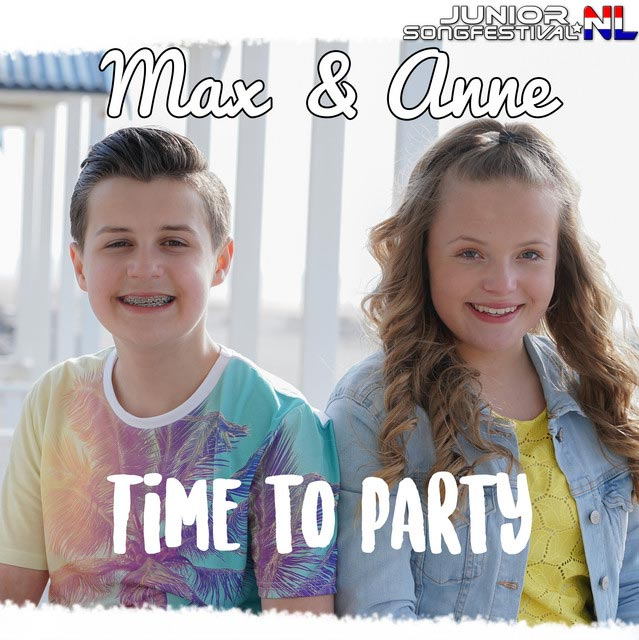 Hitsingle Time to Party  van Max & Anne