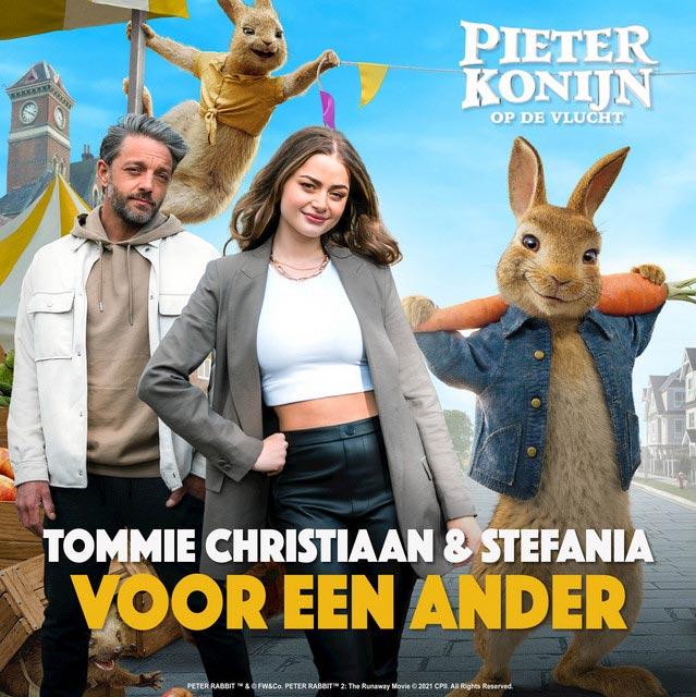 Hitsingle Voor een ander  van Tommie Christiaan & Stefania